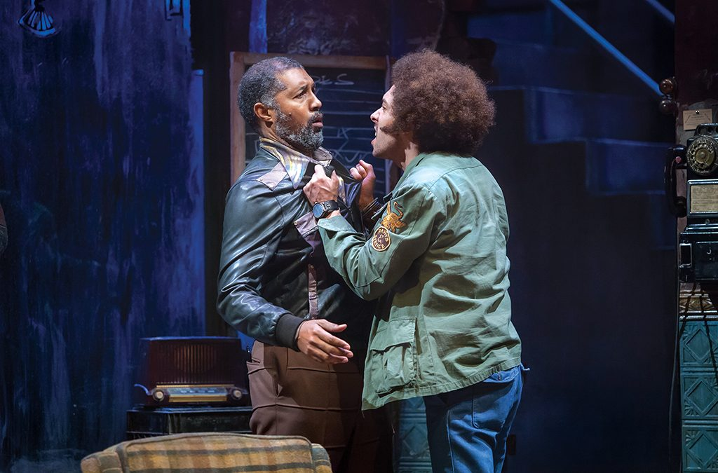 Dion Graham and Michael Kevin Darnall in the Cincinnati Playhouse in the Park production of Jitney.