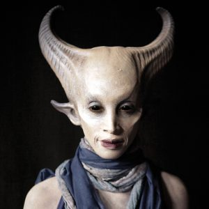 One of Miranda Jory's hallucinatory characters, created for Syfy's Face Off.