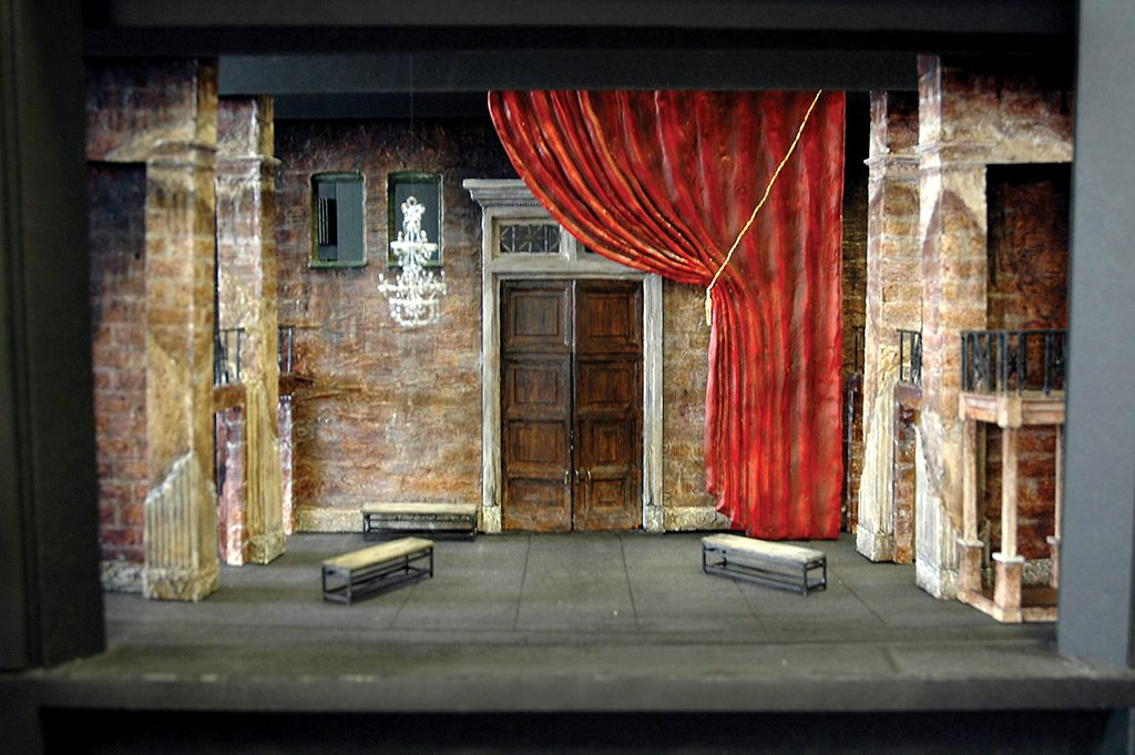 A rendered model for Romeo et Juliette.
