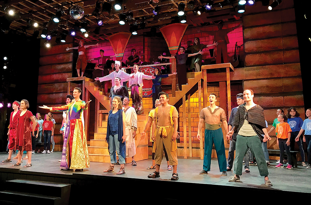 Weathervane Theatre's Joseph and the Amazing Technicolor Dreamcoat was performed after only four days of rehearsal.