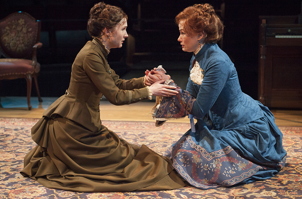 Nisi Sturgis and Gretchen Hall in The Old Globe's 2013 production of A Doll's House.