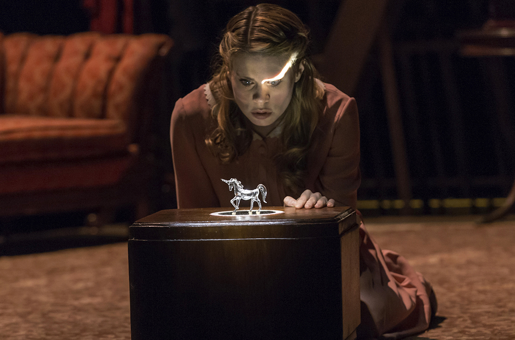 Celia Keenan Bolger in the American Repertory Theater production of The Glass Menagerie.