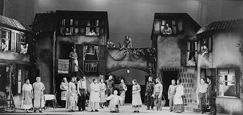 The 1935 Theatre Guild production of Porgy and Bess
