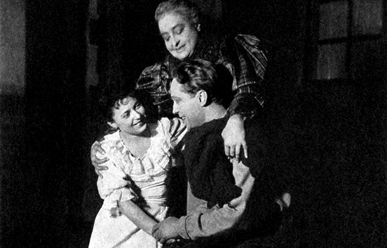 June Walker, Helen Westley, and Franchot Tone in Green Grow the Lilacs.