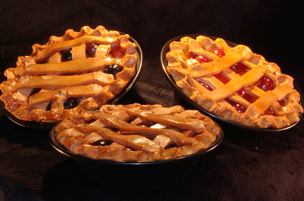 The finished pies look good enough to eat. Photo courtesy of Tammy Honesty and Karestin Harrison.