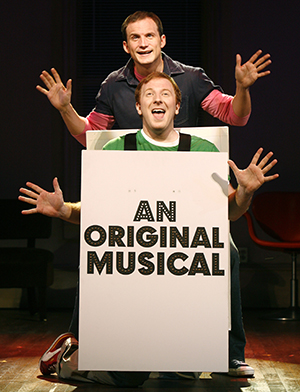 Jeff Bowen and Hunter Bell in [title of show].