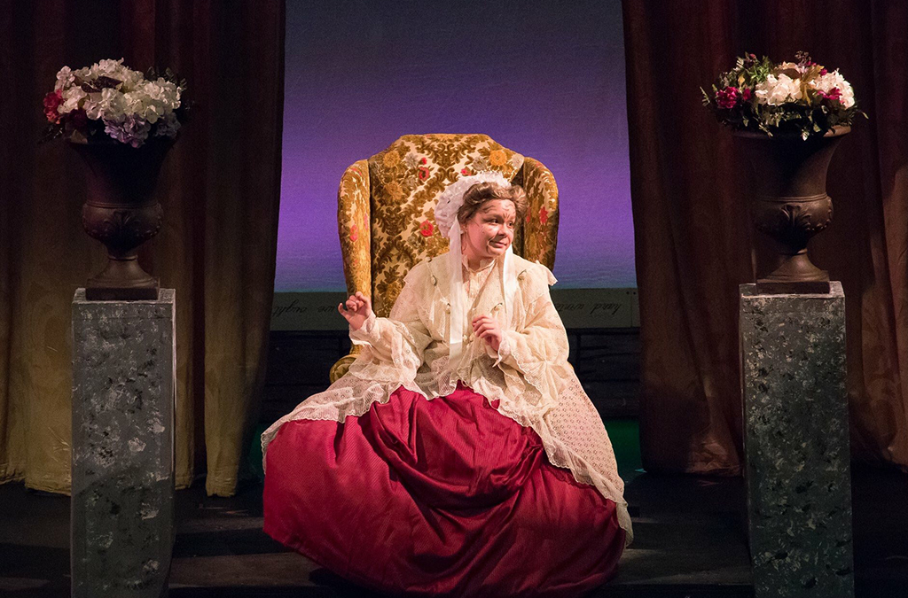 Jolie DesRuisseau in West Orange (FL) High School's production of Little Women.