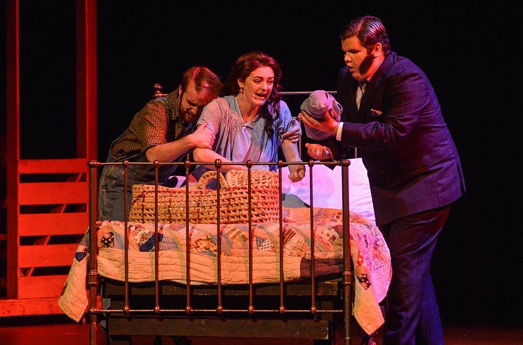 The loss of her child is a defining moment for Alice in Bright Star, performed by West Orange (Fla.) High School at the 2018 International Thespian Festival.