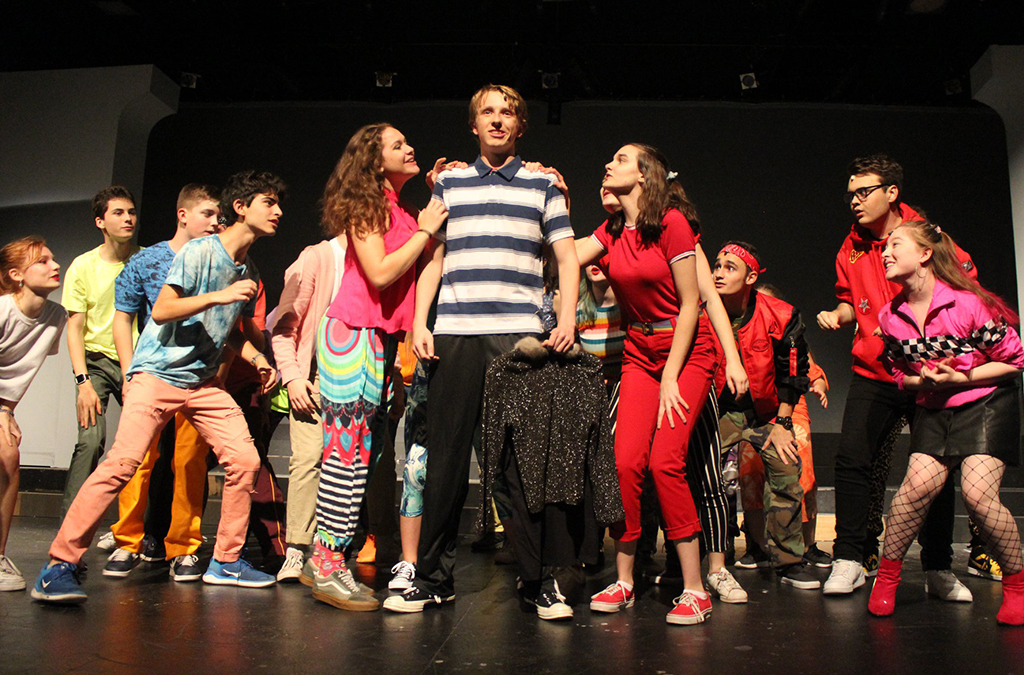 The cast of South Eugene High School's production of Be More Chill.
