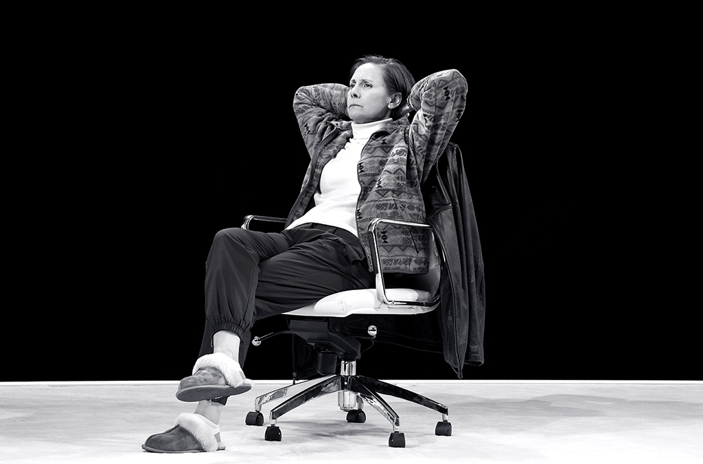 Laurie Metcalf in Hillary and Clinton.
