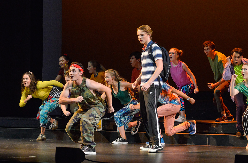 The South Eugene (Ore.) High School production of Be More Chill.
