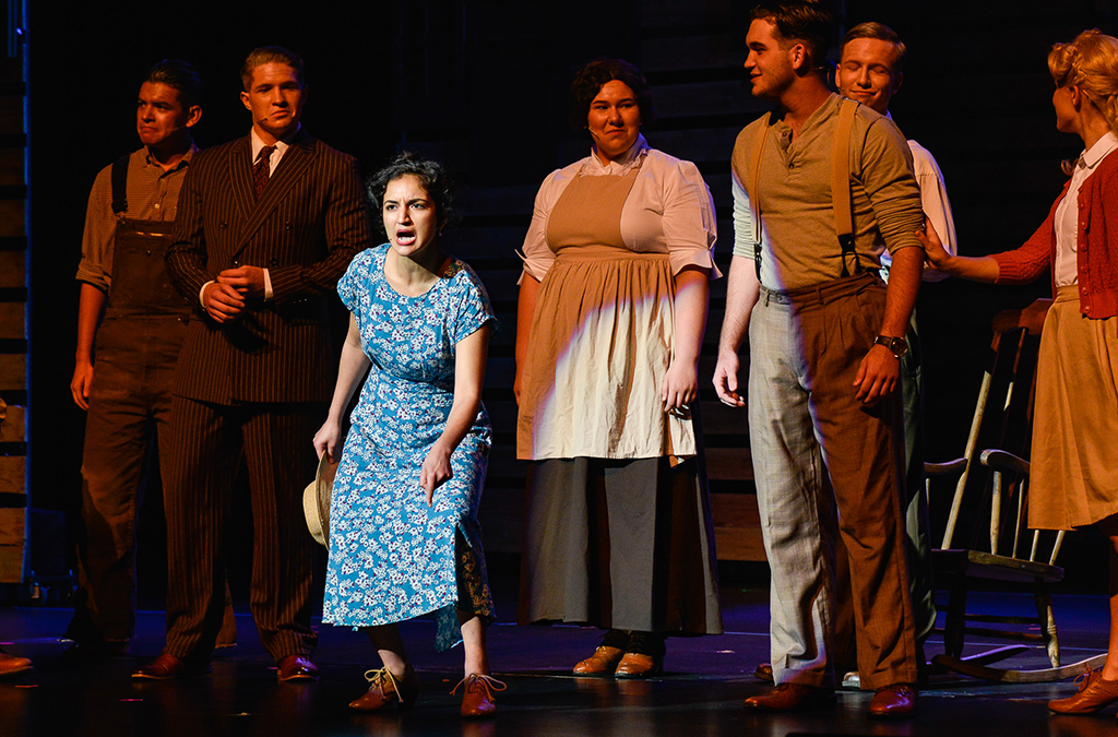 The Rock Ridge High School production of Bright Star.