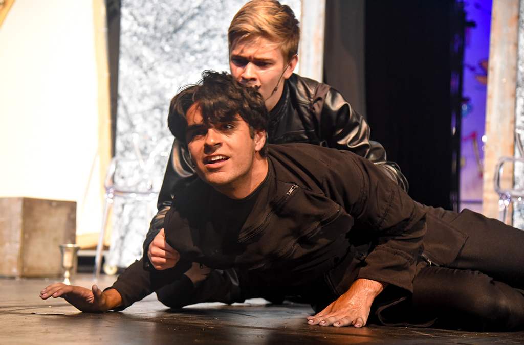 The Garden City (Kan.) High School production of Hamlet.