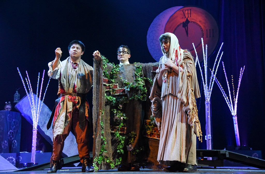 The North Penn High School production of A Midsummer Night's Dream.