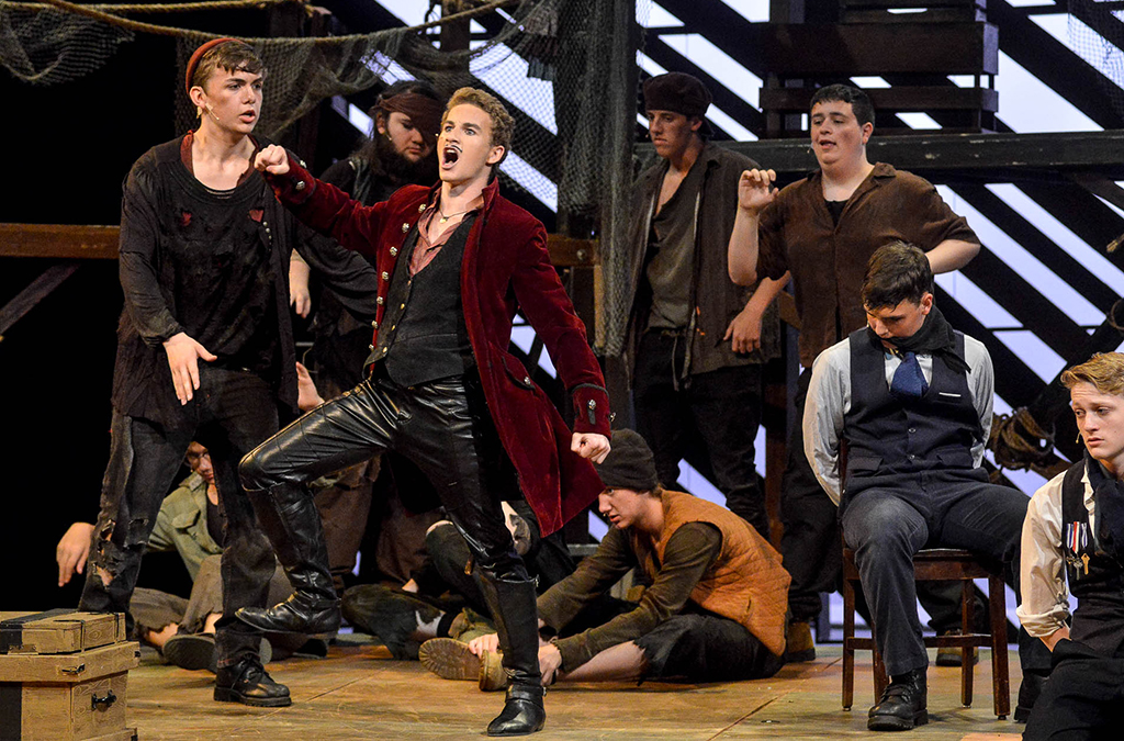 The Jemicy School production of Peter and the Starcatcher.