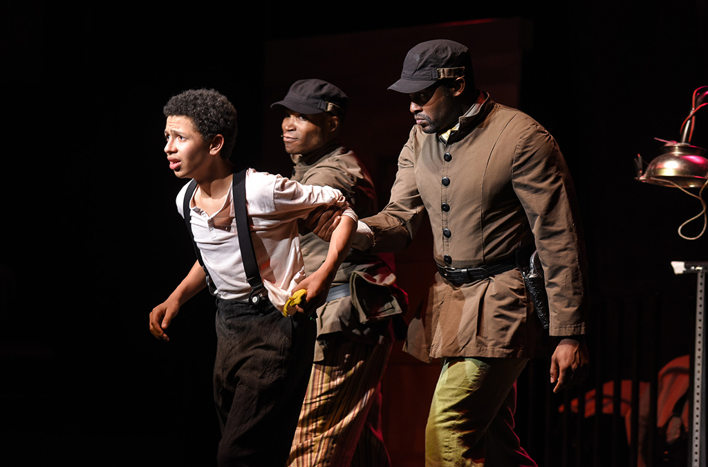 The Bradford High School production of The Scottsboro Boys.