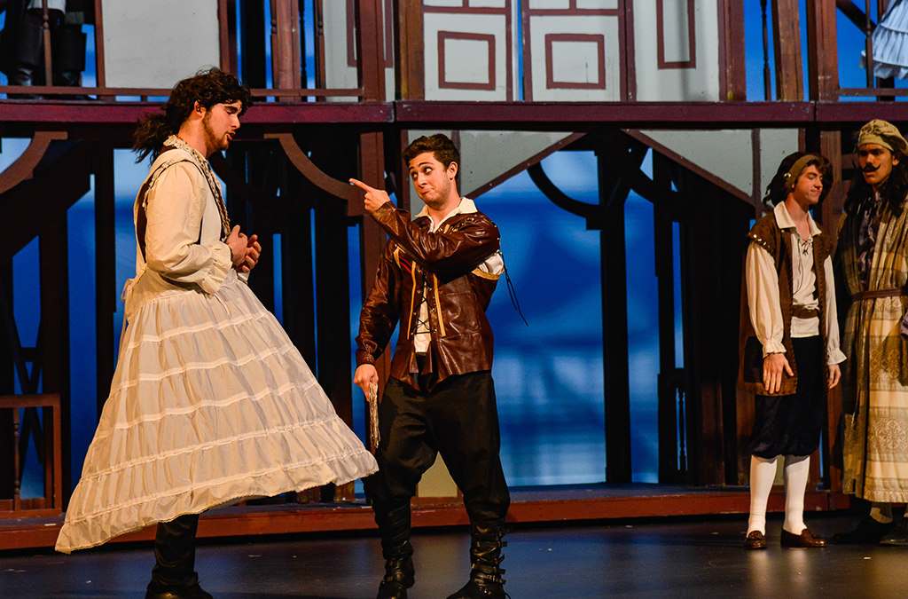 The J.J. Pearce High School production of Shakespeare in Love.