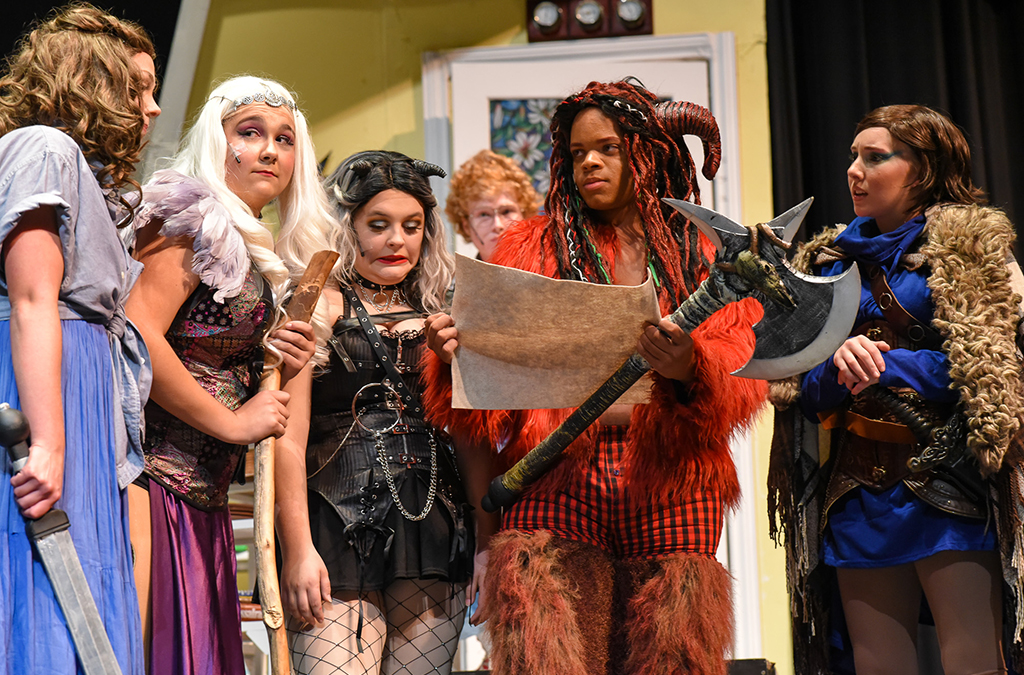 The St. Charles (Mo.) High School production of She Kills Monsters.