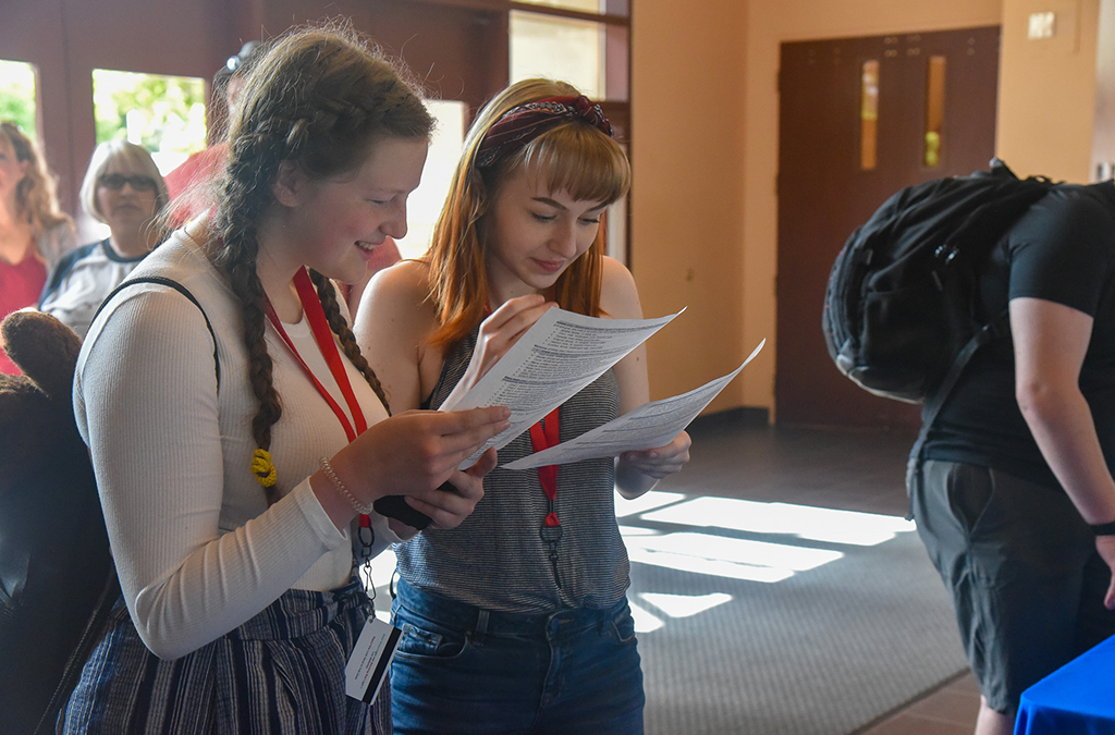 Thespians from across the country signed up to audition for this year's Next Generation Works student-written plays and musicals.