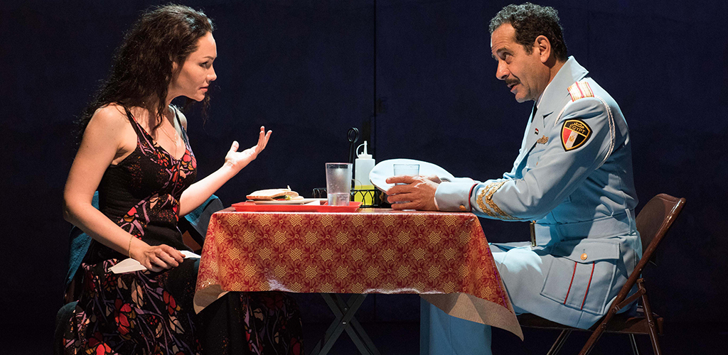 Katrina Lenk and Tony Shalhoub