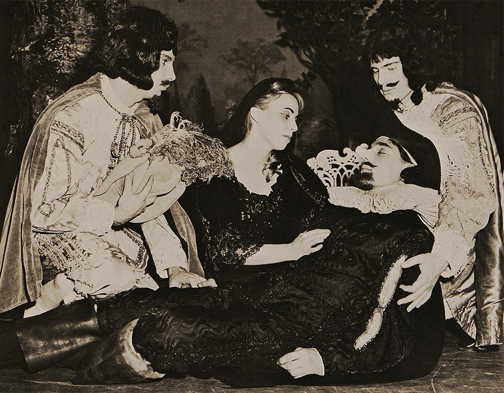 The Port Chester (N.Y.) Senior High School 1963 production of Cyrano de Bergerac.