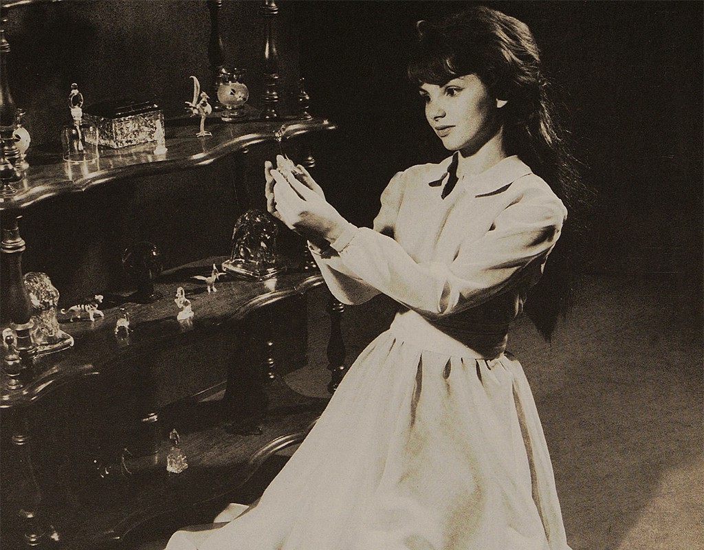 Patricia Shukas in the Willowbrook (Ill.) High School 1961 production of The Glass Menagerie.