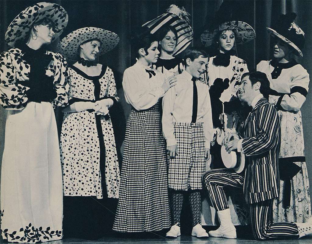 The 1968 Lake Oswego (Ore.) Senior High School production of The Music Man, presented at the Twelfth National Dramatic Arts Conference.
