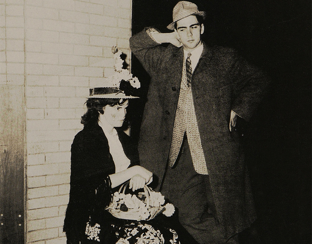 The Ursuline High School (Youngstown, Ohio) 1962 production of Pygmalion.