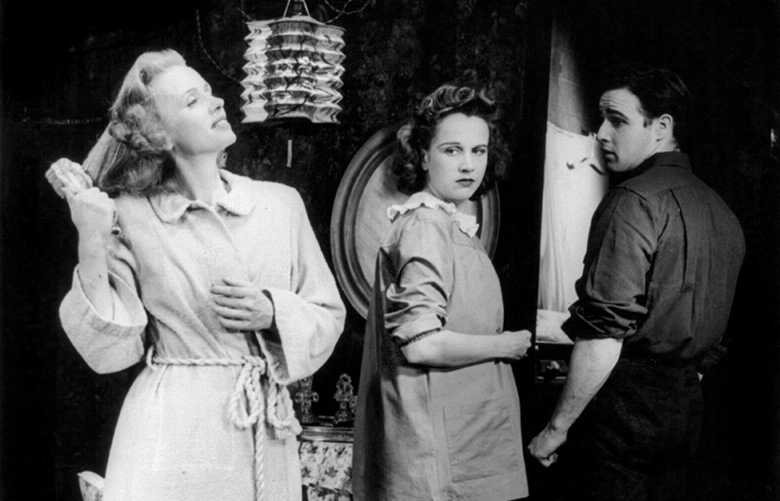Jessica Tandy, Kim Hunter, and Marlon Brando