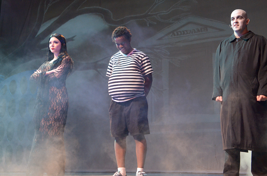 The 2015 Spring Woods High School International Thespian Festival production of The Addams Family.