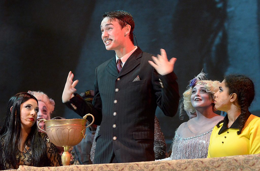 The Spring Woods (Houston, Texas) High School production of The Addams Family.
