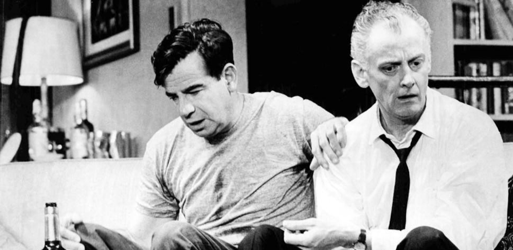 Photo of Walter Matthau and Art Carney by Henry Grossman.