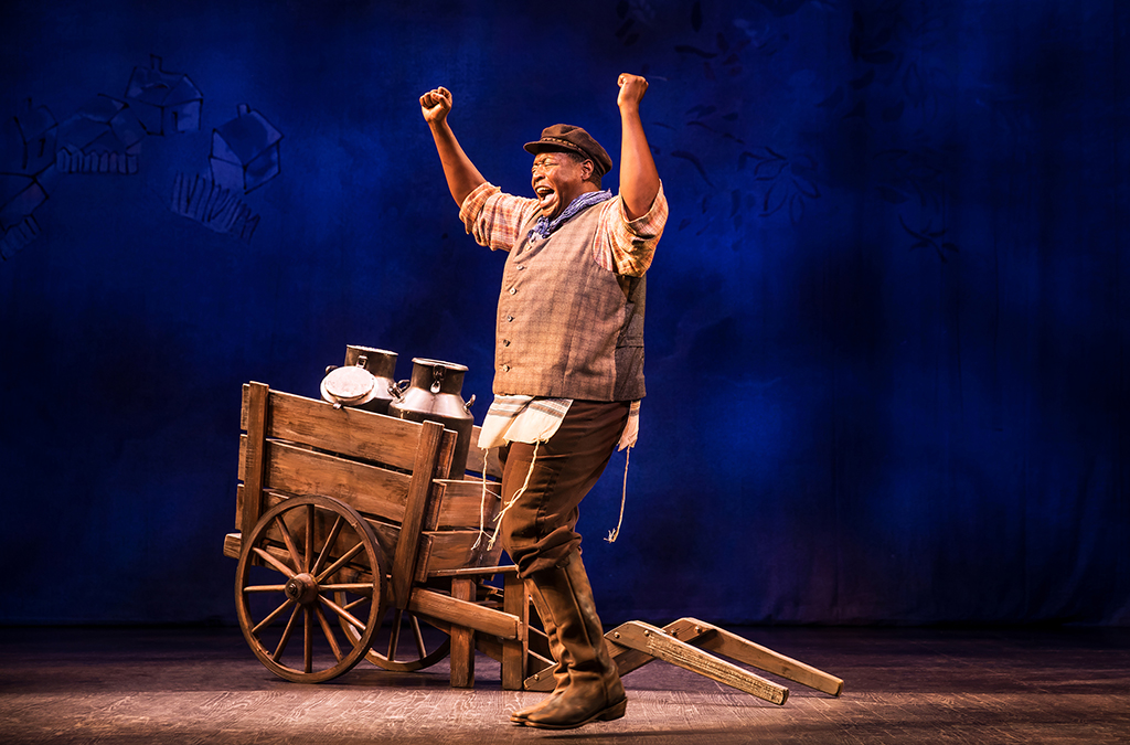 Chuck Cooper as Tevye in Fiddler on the Roof in Prince of Broadway.