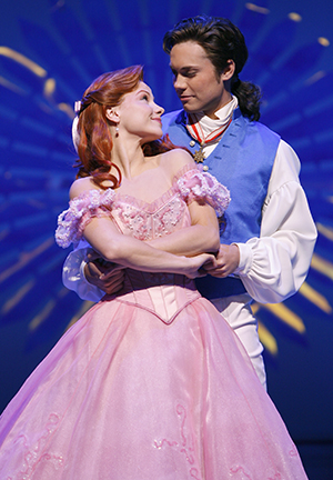 Chelsea Morgan Stock and Drew Seeley in The Little Mermaid.