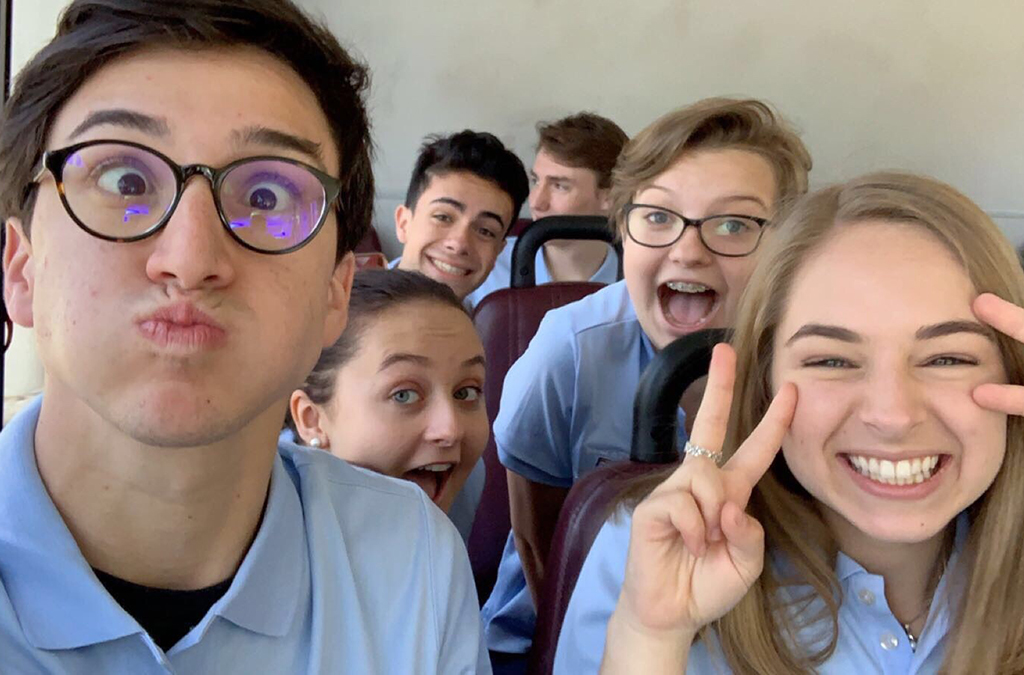 The 2019-20 International Thespian Officers get ready to take the Hill for Theatre Education Advocacy Day.