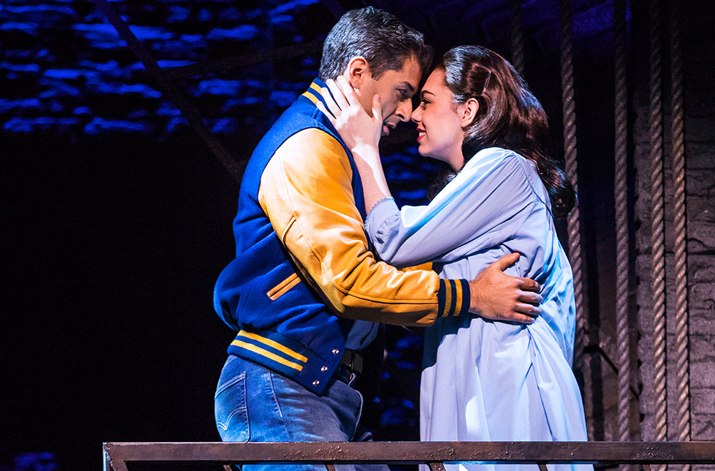 Tony Yazbeck and Kaley Ann Voorhees in the West Side Story segment of Prince of Broadway.