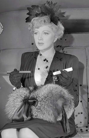 Stella Adler in the 1941 film Shadow of the Thin Man.