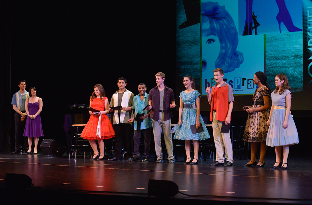 Thespians perform An Evening with Marc Shaiman and Scott Wittman t the 2014 International Thespian Festival.