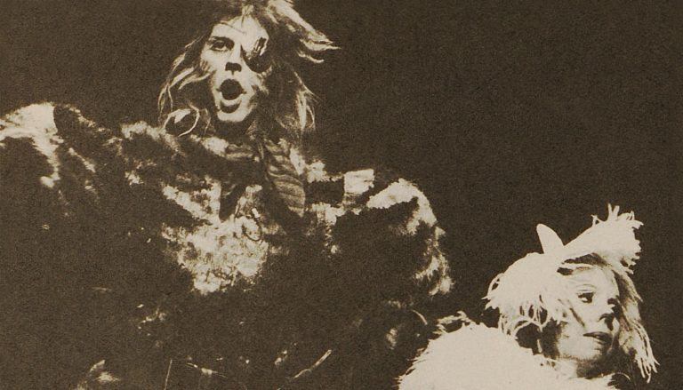 Stephen Tate and Susan Jane Tanner in th original London production of Cats.