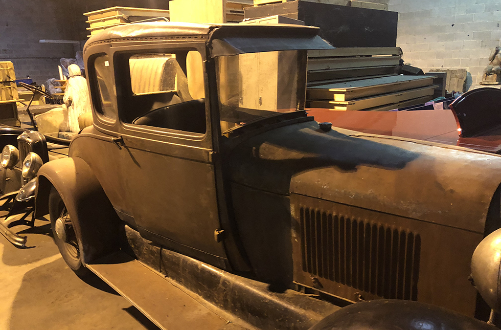 The Colony High School acquired all four original cars from the Broadway production of Bonnie and Clyde.