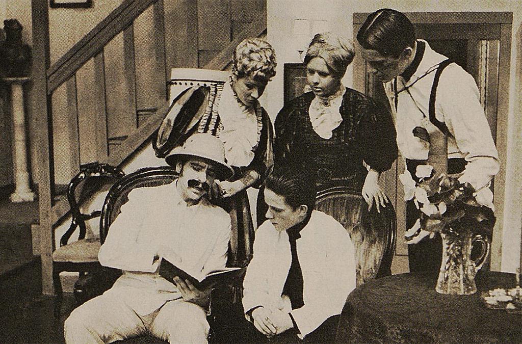 The 1970 Augustinian Academy (St. Louis, Mo.) production of Arsenic and Old Lace.