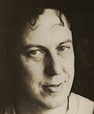Playwright Robert Patrick, pictured in a 1977 issue of Dramatics.