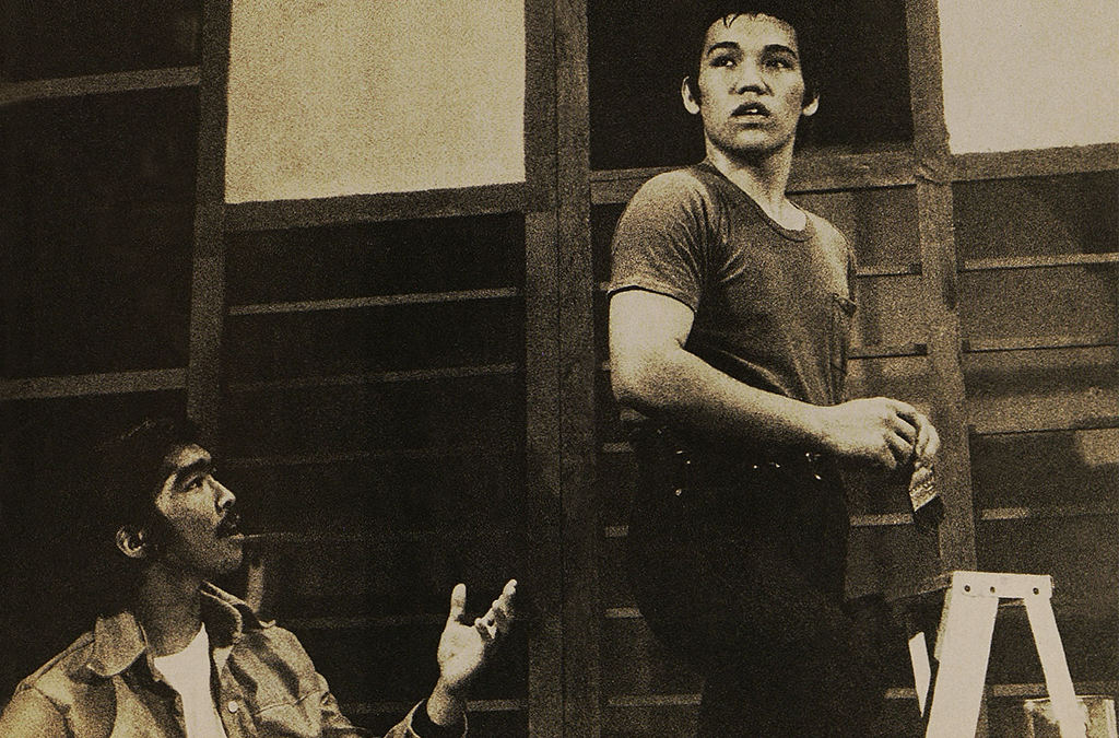 The 1976 McKinley High School (Honolulu, Hawaii) production of West Side Story.