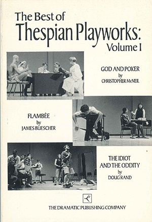 The published scripts for the original 1994 Thespian Playworks finalists.