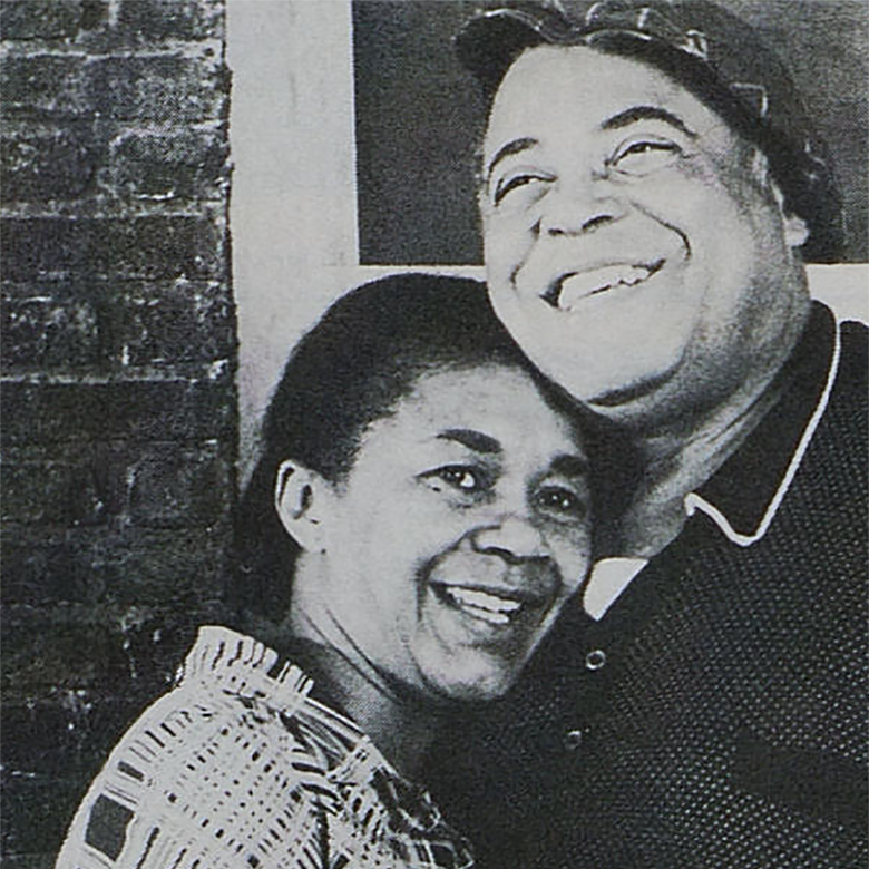 Mary Alice and James Earl Jones in Fences.