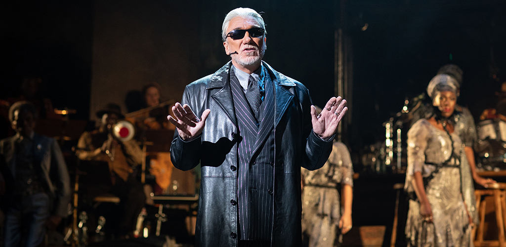 Patrick Page in Hadestown.