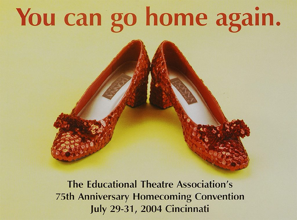 An advertisement in Dramatics for the 2004 Homecoming Convention.