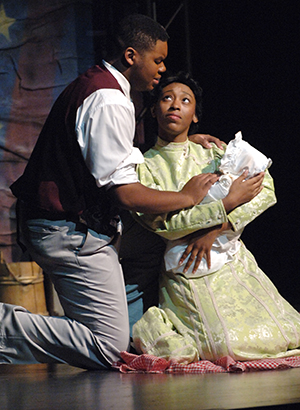 he cast of the 2005 International Thespian Festival national cast production of Ragtime.