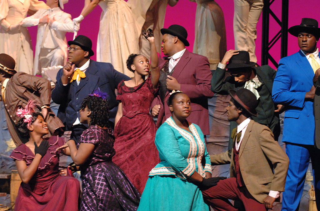 The national cast of the 2005 International Thespian Festival production of Ragtime.