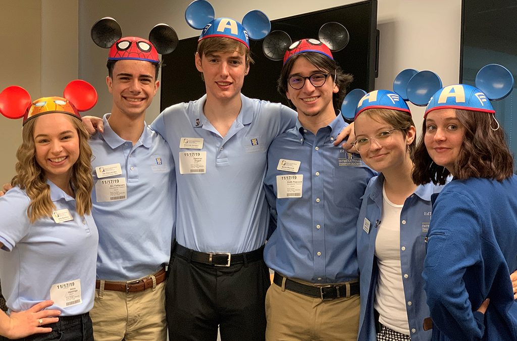 The ITOs got a dose of Disney magic as they explored their leadership superpowers